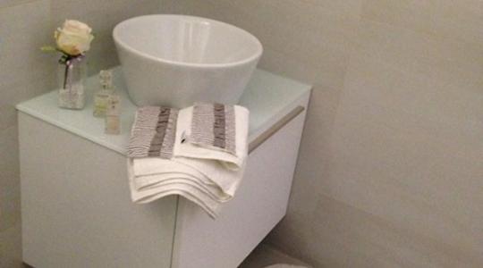 Edoné Bathroom Design – Giunone+Inda – Composizione su misura –